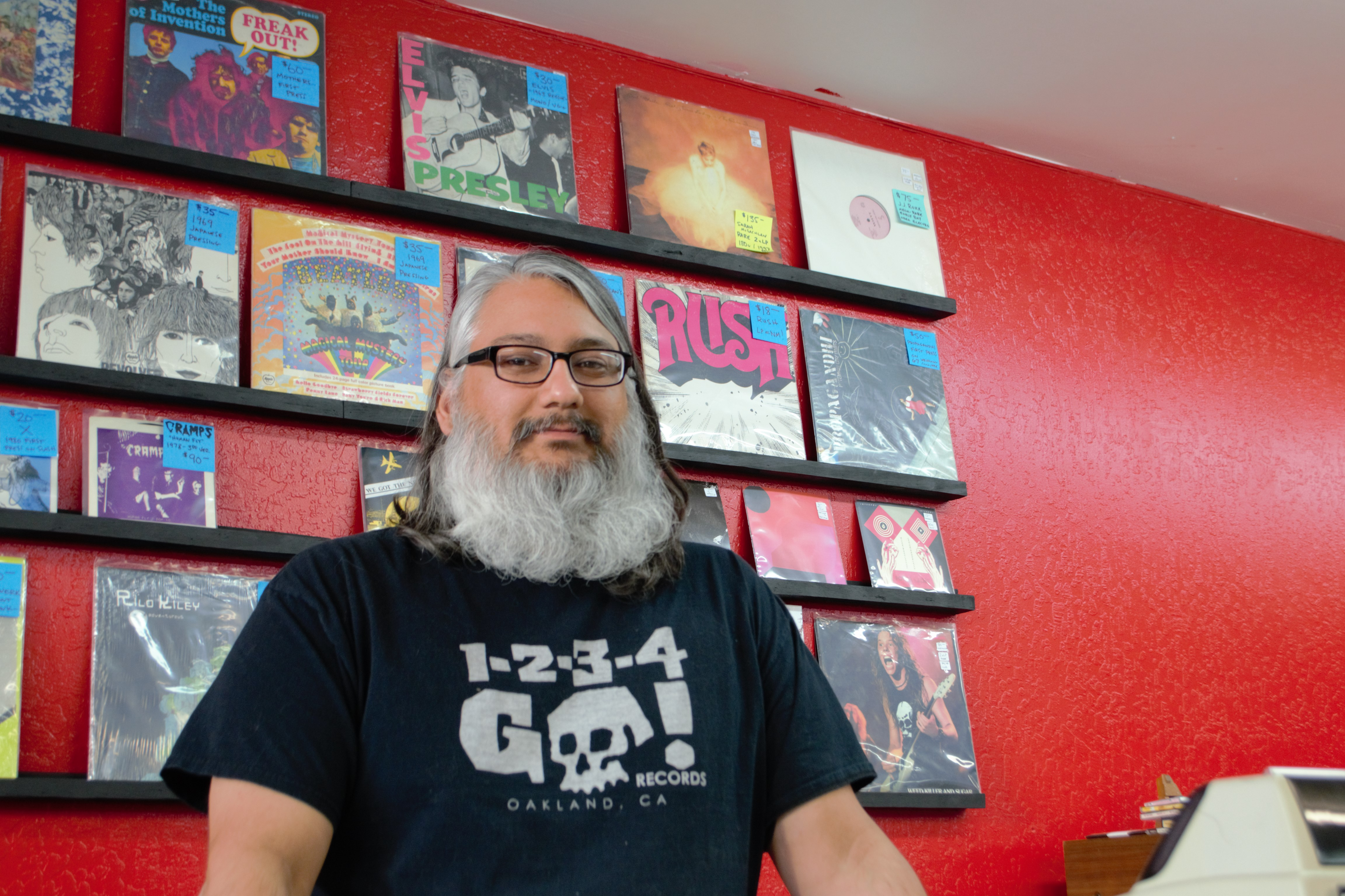 Reno Record Store Owner