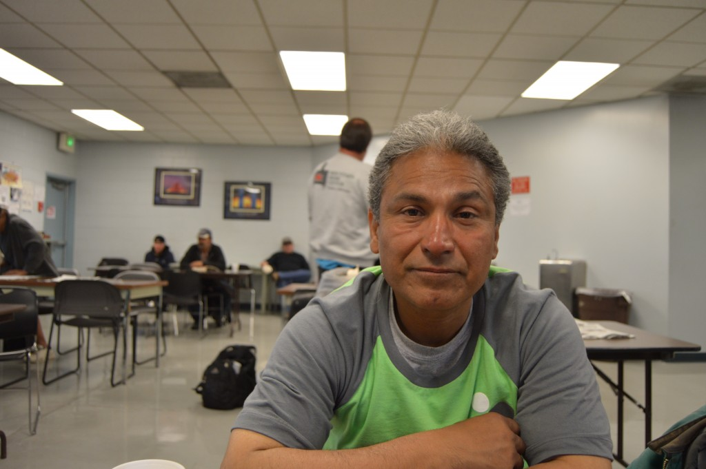 Zeke Luna was released from prison two years ago. He has been a fixture at the Day Labor Office since. – Photo by Michael Olinger