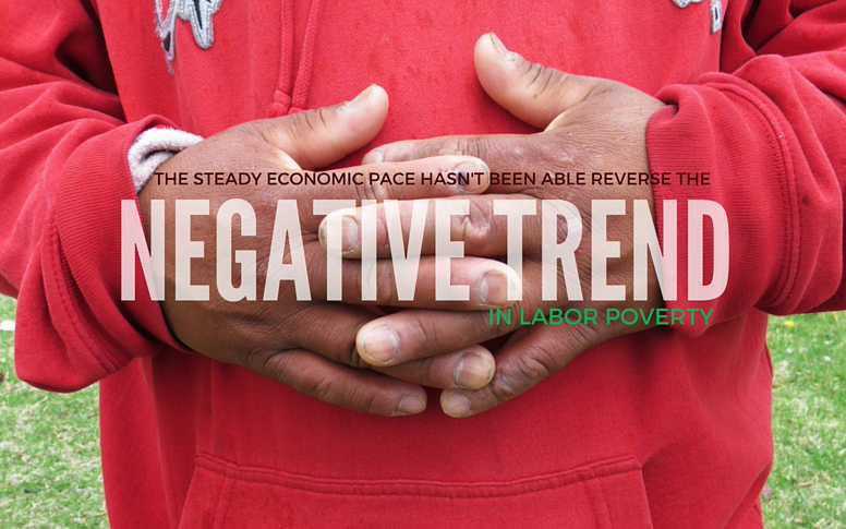 """Thumbmail of """"Negative Trend in Labor Poverty."""""""