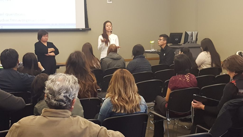 A panel discusses the fears of undocumented students.