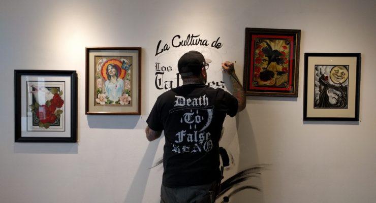Reno Exhibit Highlights Latino Tattoo Artists