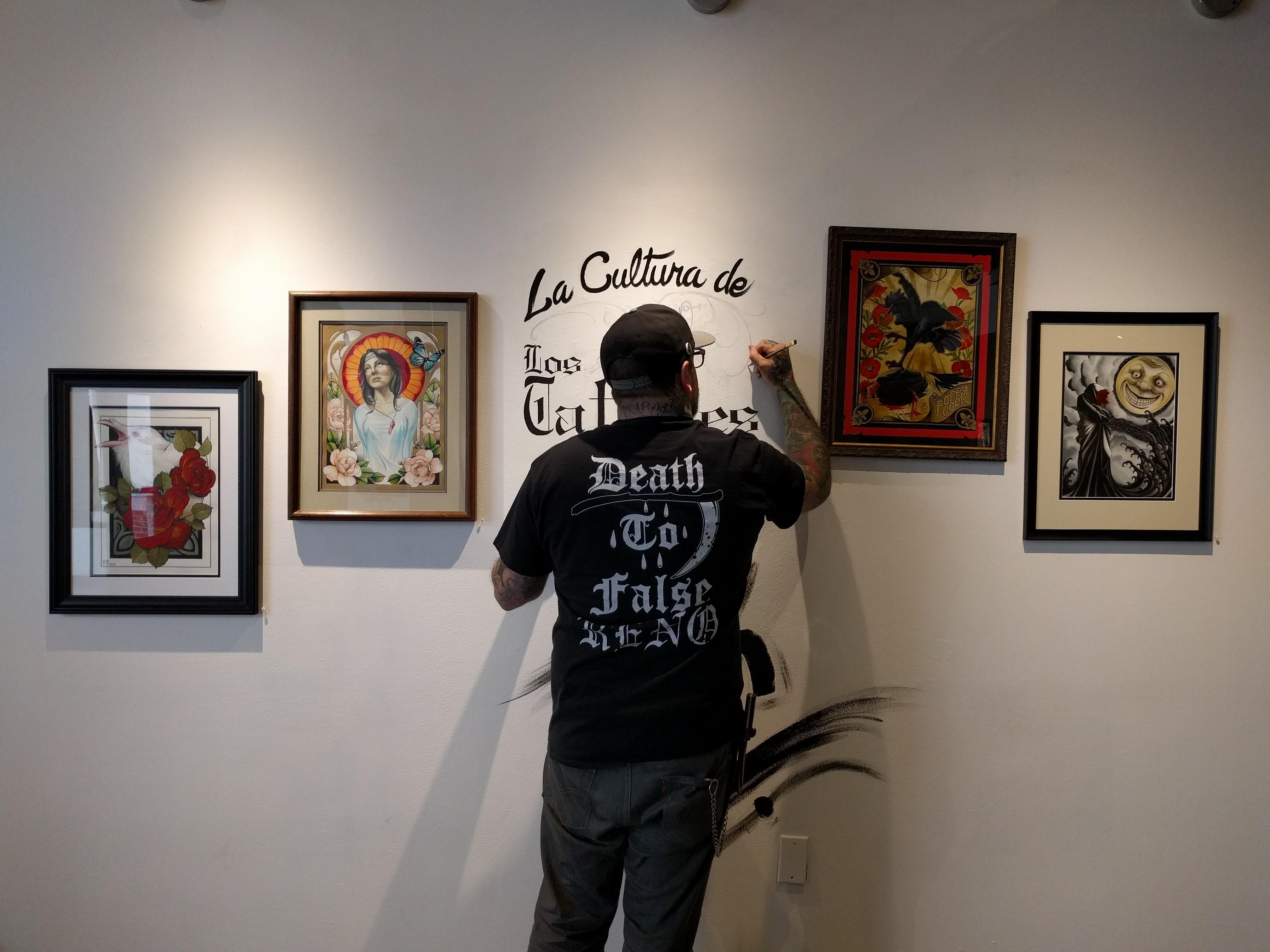 Mike Curatello Reno Tattoo Artist
