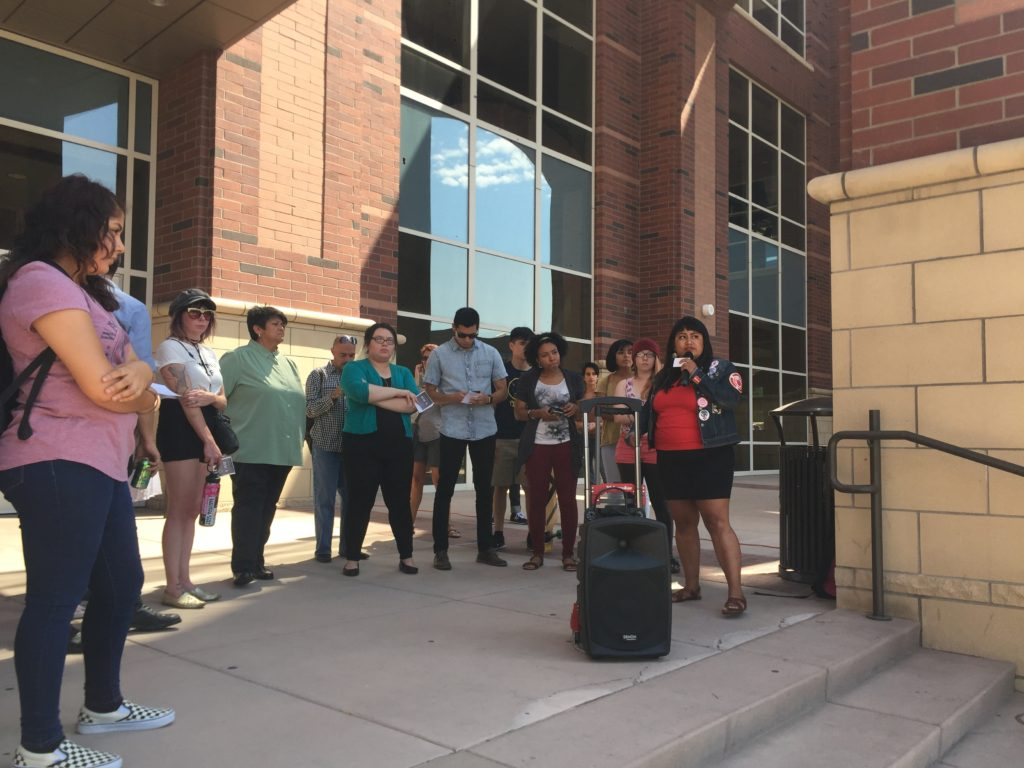 UNR Students Protest DACA Decision