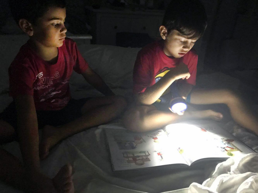 Puerto Rican Children during Hurricane Maria