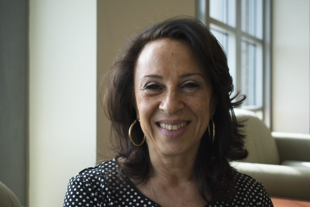 Journalist Maria Hinojosa, host and managing editor of the NPR program Latino USA. CREDIT: Natalie Van Hoozer
