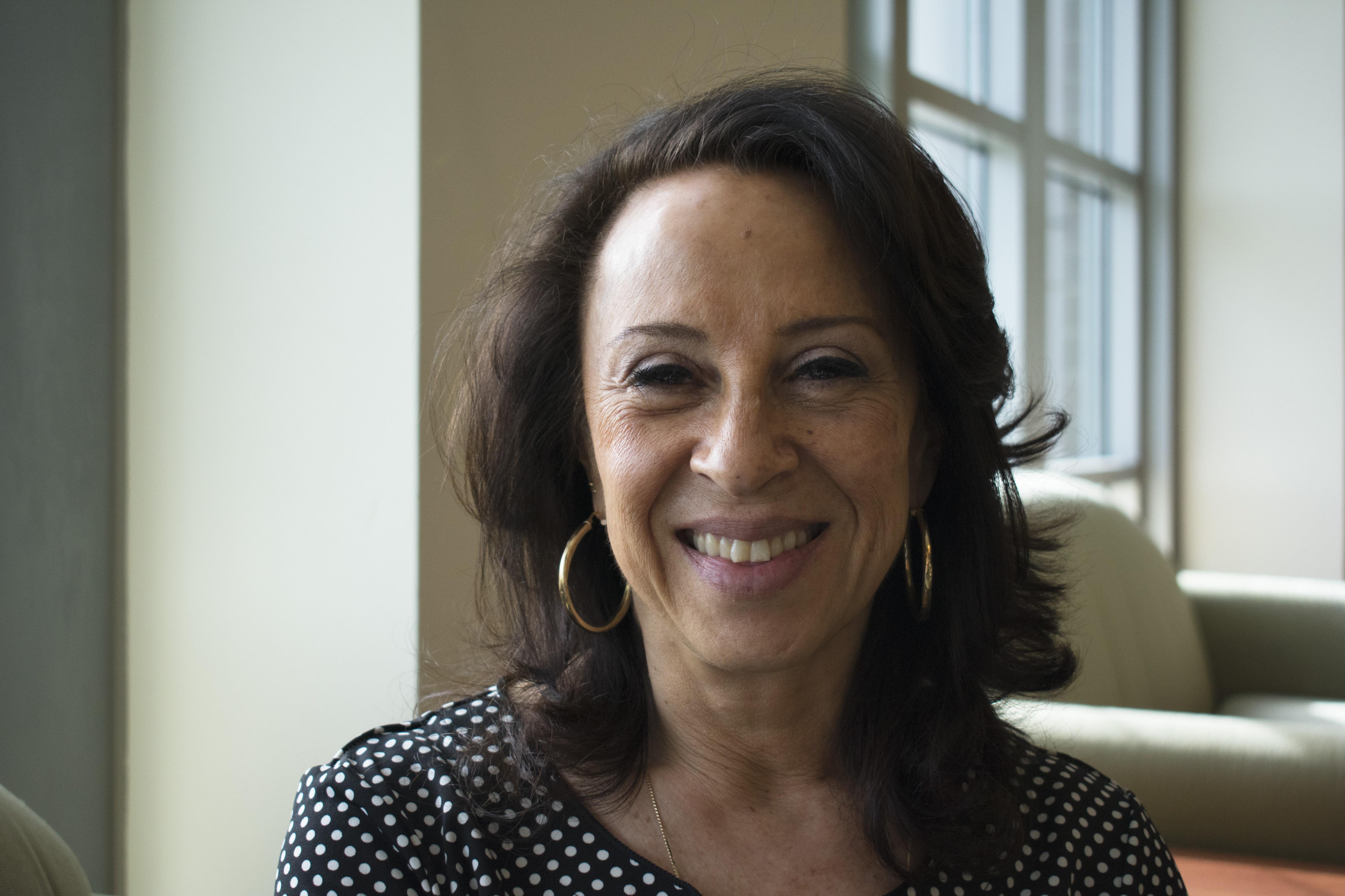 Journalist Maria Hinojosa, host and managing editor of the NPR program Latino USA. CREDIT: Natalie Van Hoozer