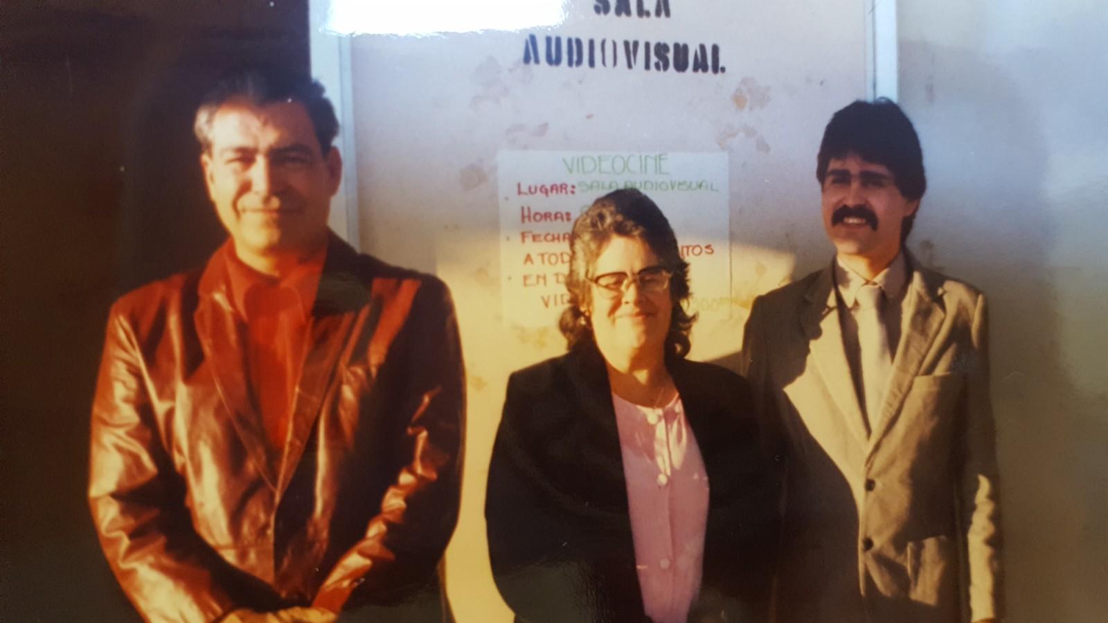 Family photo of Jose Orozco, Aurora Orozco, and David Orozco.