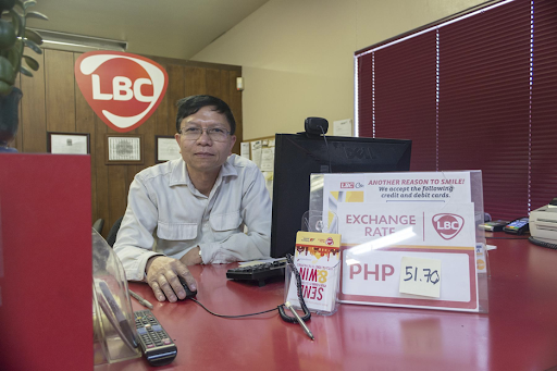 Joecel Soriano at the Reno branch of LBC