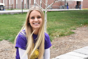 Portrait of Galena High school student, Brianna Murry.
