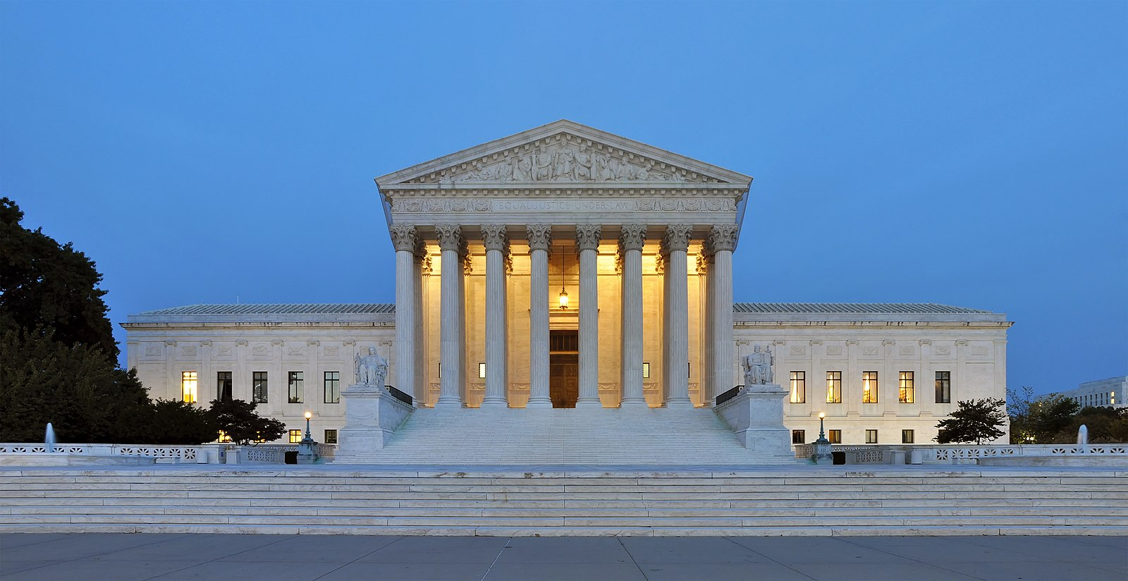 U.S. Supreme Court building exterior