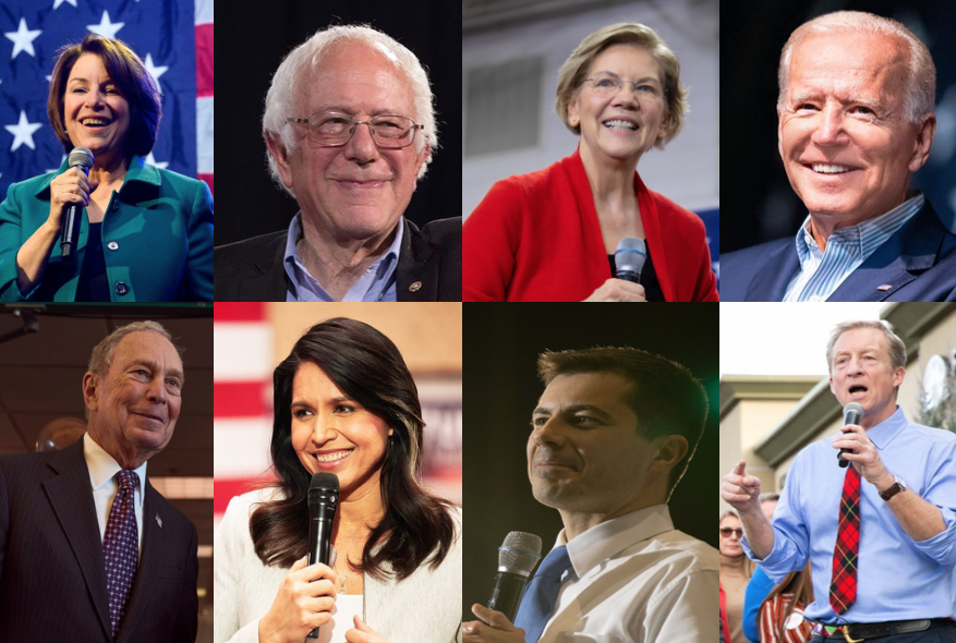 collage-candidates-us-presidency-2020