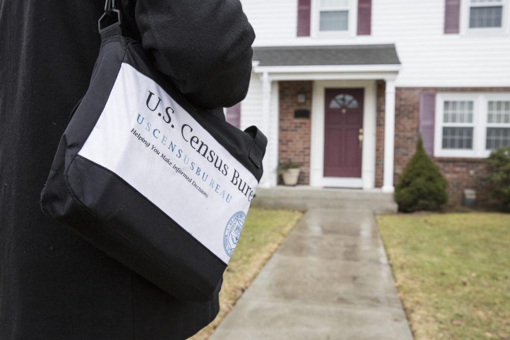 Census taker in Rhode Island