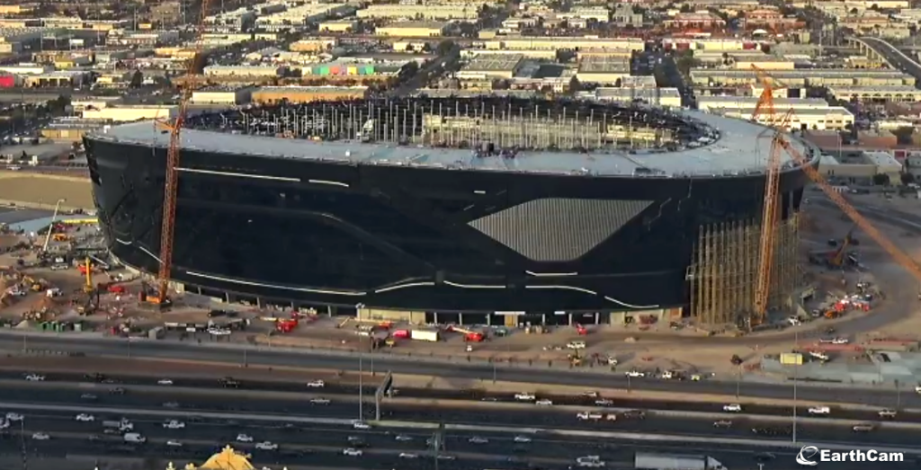 Allegiant Stadium, the new Las Vegas Raiders home