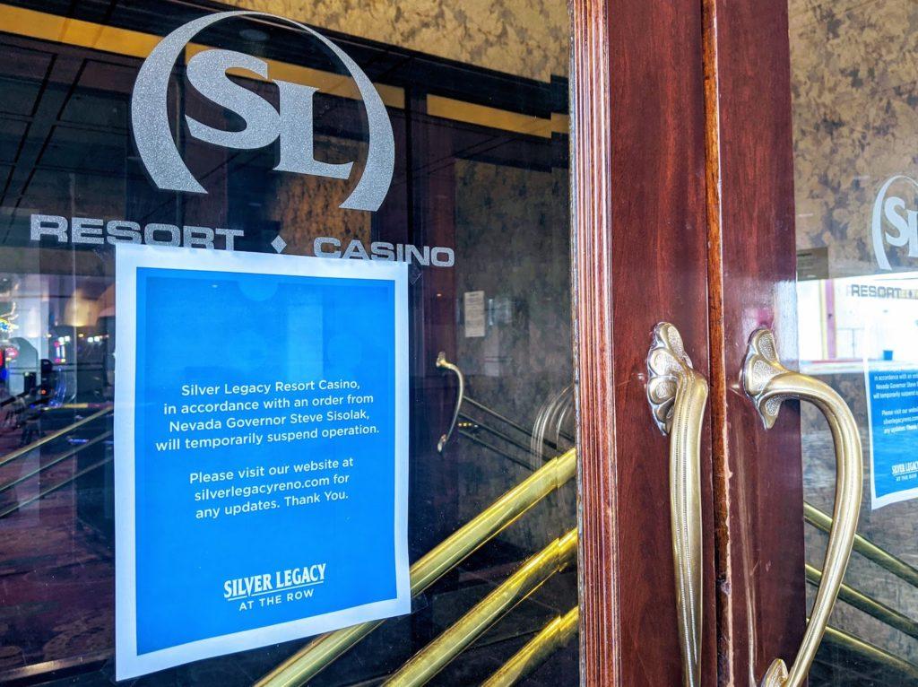 sign closure silver legacy casino