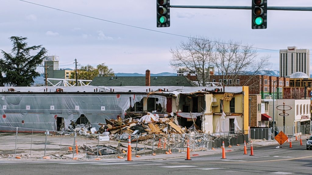 construction in Reno continues
