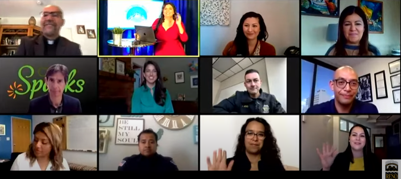 Officials use YouTube to communicate with the Latino community in Spanish