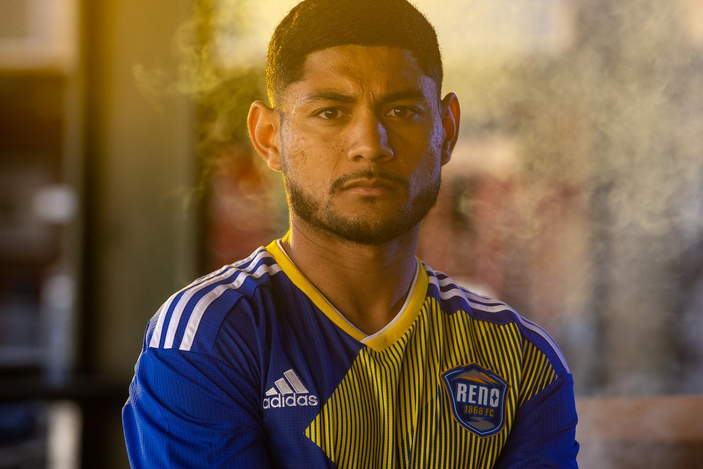 Headshot of Kevin Partida, Reno 1868 soccer player