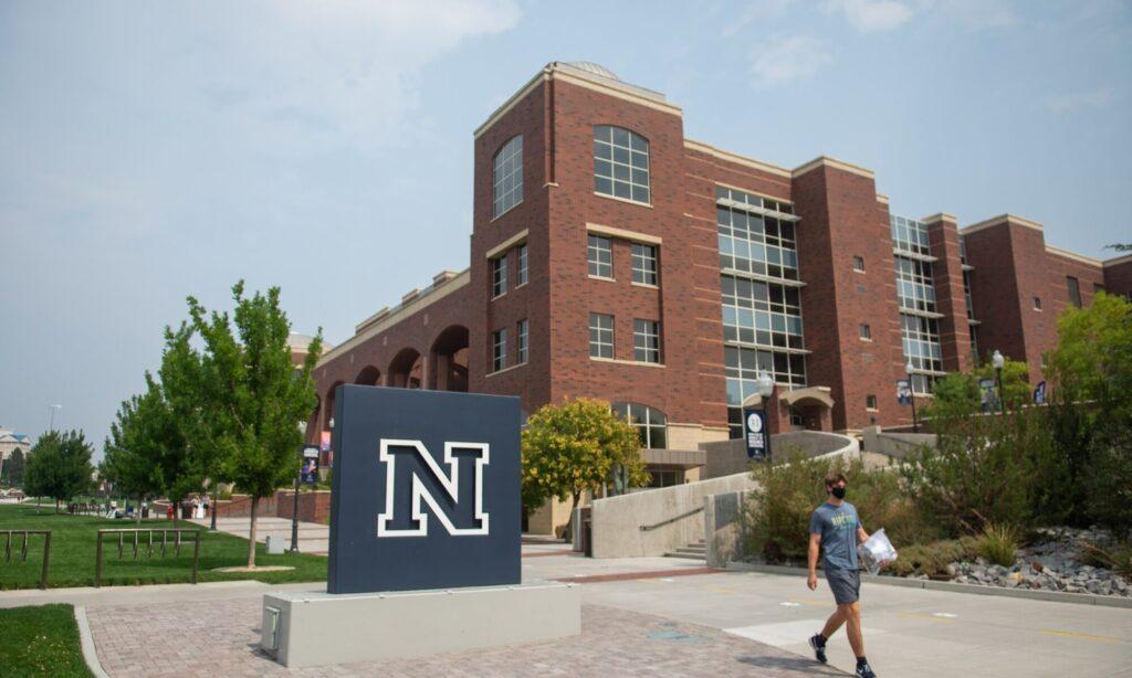 A campus building