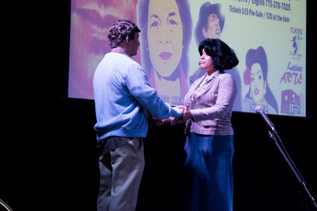 Actors on stage depict life of César Chávez