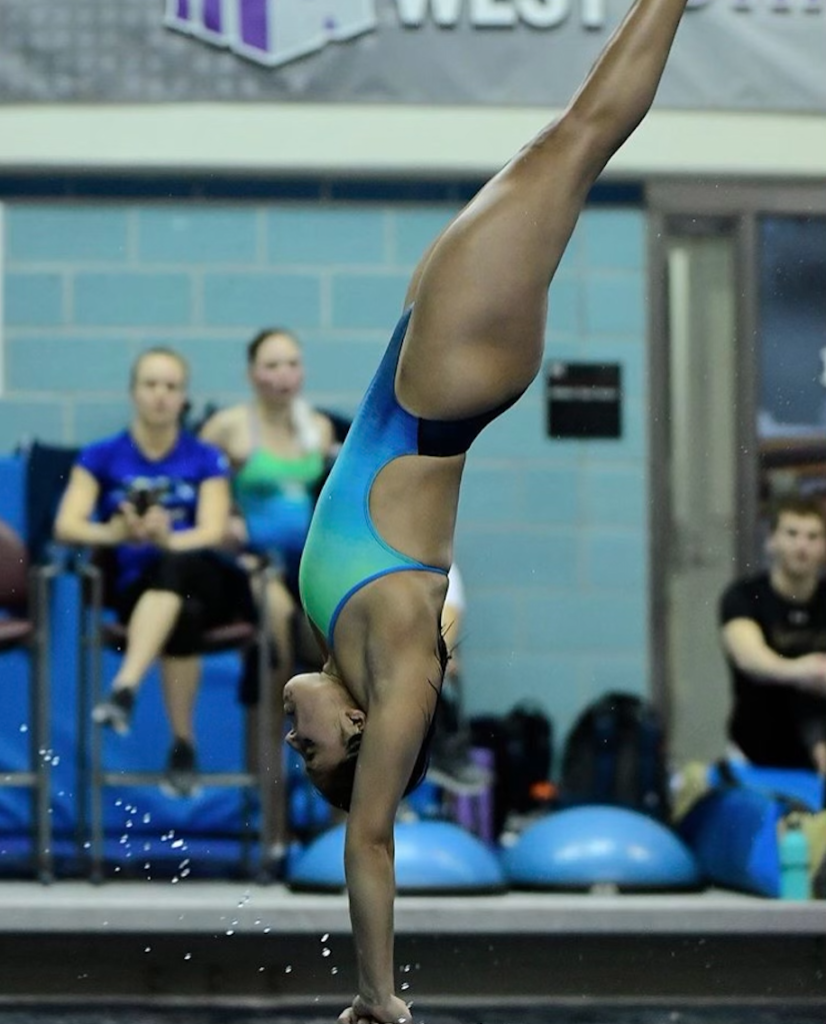 Isabel Vazquez diving board